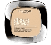 L'Oreal, Пудра Alliance Perfect Совершенное слияние, 9 гр (6 оттенков) D5 Бежево-золотистый пудра alliance perfect совершенное слияние d5 бежевозолотистый loreal