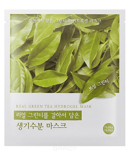 Holika Holika, Гидрогелевая маска Силы природы - зеленый чай Found From Nature Green Tea Hydrogel Mask, 32 г автомобильная внутрисалонная радиo активная антеннa rexant rx 503 34 0503