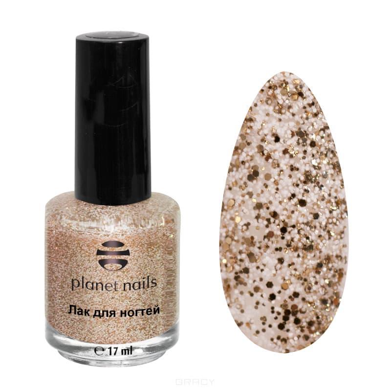 Planet Nails, Лак для ногтей Конфетти, 17 мл (12 оттенков) Лак для ногтей Конфетти, 17 мл (12 оттенков)Цветные лаки для ногтей<br><br>