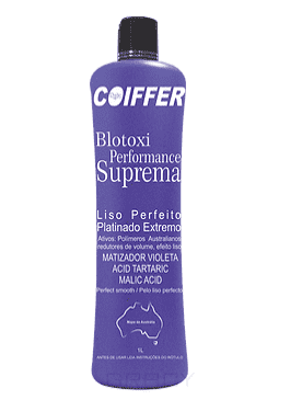 Coiffer, Система для выпрямления волос и придания оттенка Платиновый блонд Performance Suprem Шаг 3, 250 млКератиновое выпрямление<br><br>