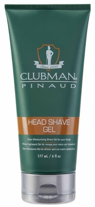 Увлажняющий гель для бритья (прозрачный) Head Shave Gel, 177 мл гель д бритья nivea охлаждающий д чувствит кожи 200мл