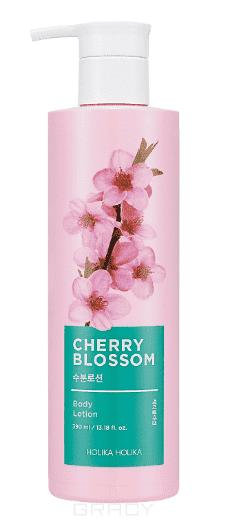 Купить Holika Holika, Cherry Blossom Body Lotion Лосьон для тела Увлажняющий, 390 мл Холика Холика