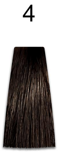 Kaaral, Стойкая безаммиачная крем-краска с гидролизатами шелка Baco Soft Ammonia Free, 60 мл (42 оттенка) 4 каштан  - Купить