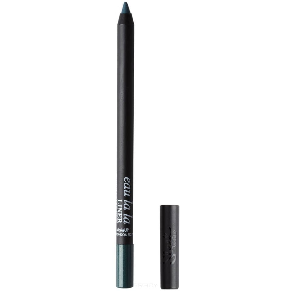 Sleek MakeUp, Карандаш для глаз Eau La La Liner (13 оттенков) синий, тон 292 Tonic sleek makeup eau la la liner cocoa карандаш для глаз и губ тон 327 какао