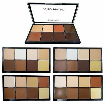 Купить MakeUp Revolution, Палетка для контуринга HD Pro Cream Contour, 20 гр (3 варианта), Light Medium