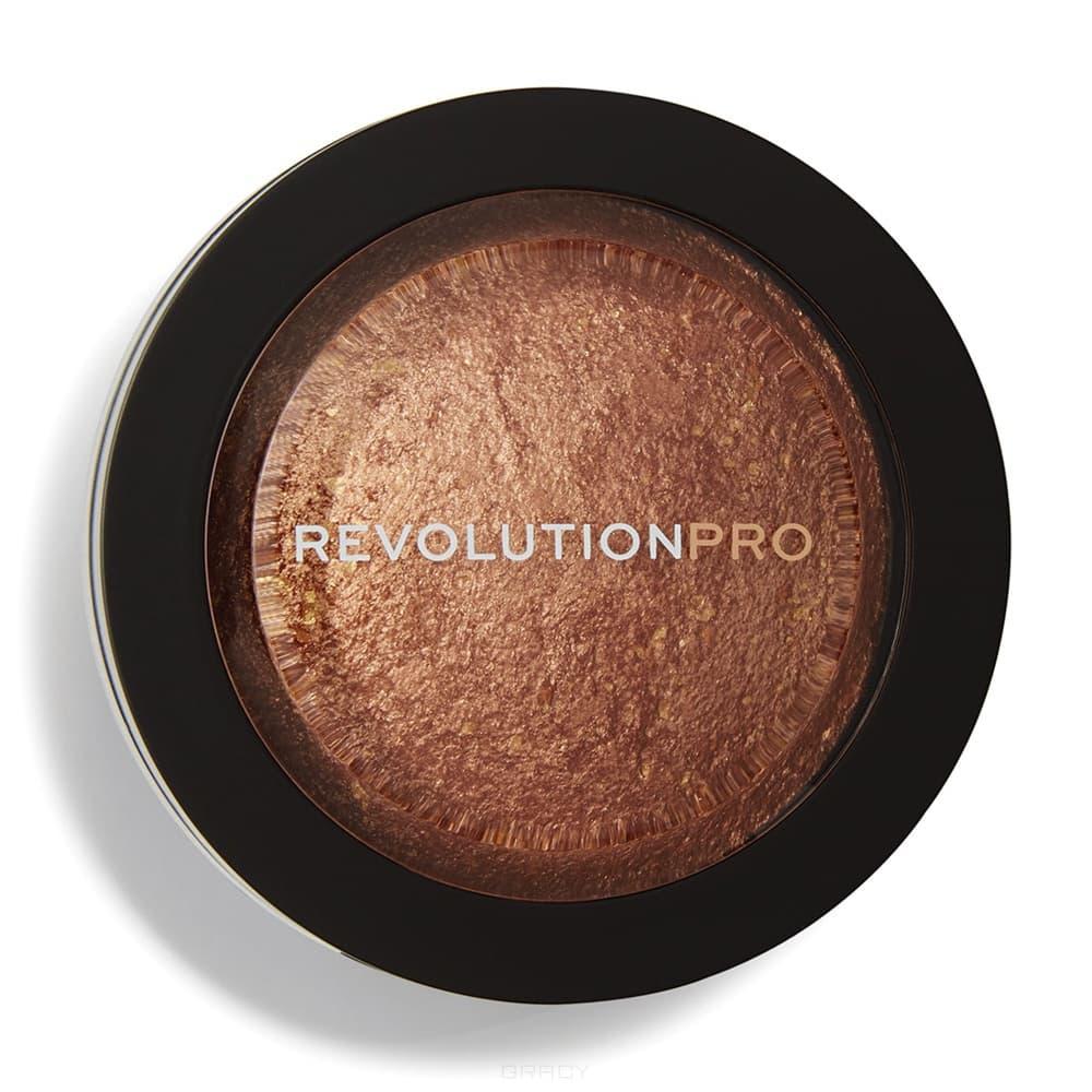 Revolution Pro, Хайлайтер Skin Finish (5 оттенков), 5 мл, 5 мл, Golden Glare цены