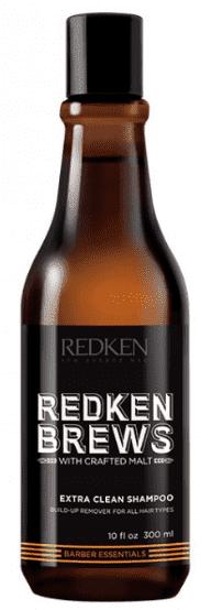 Redken, Мужской шампунь для жирных волос Brews Extra Clean Shampoo, 300 мл цена