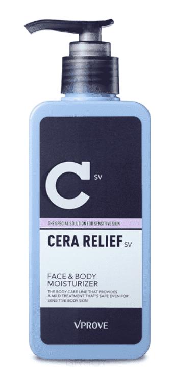 Vprove, Лосьон для тела Кера Релиф, интенсивно увлажняющий Cera Relief SV Face & Body Moisturizer, 200 мл увлажняющий лосьон для тела maxam 200 мл