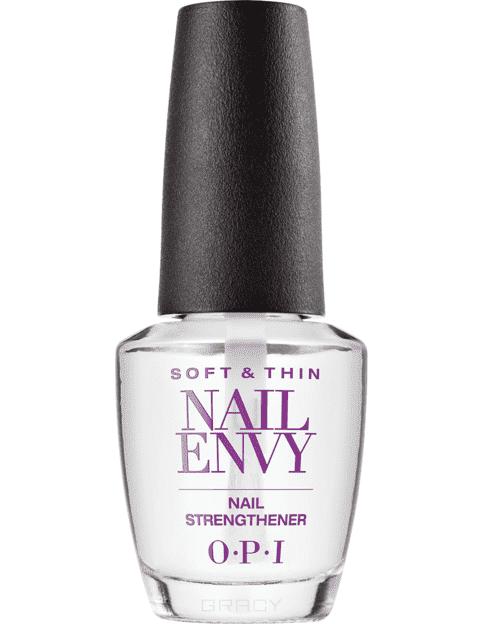 OPI, Средство для тонких и мягких ногтей Soft & Thin Nail Envy, 15 мл opi nail envy sensitive