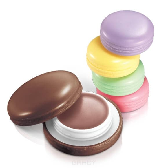 It's Skin, Macaron Lip Balm Бальзам для губ Ит Скин, 9 г (5 оттенков), 9 г, 02 Greenapple (тон 02, зеленое яблоко) it s skin one touch lip brush кисть универсальная для губ ит скин