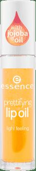 Масло для губ Prettifying Lip OilОписание:&#13;<br> &#13;<br> Масло для губ Essence Prettifying Lip Oil, обогащенное экстрактом жожоба, обеспечивает интенсивное увлажнение, имеет легкую, нелипкую текстуру и придает губам деликатный блеск.&#13;<br> &#13;<br> Состав:&#13;<br> &#13;<br> Paraffinum Liquidum (Mineral Oil), Polybutene, Diisostearyl Malate, Pentaerythrityl Tetraisostearate, Isostearyl Isostearate, Octyldodecanol, Butylene/Ethylene/Styrene Copolymer, Ethylene/Propylene/Styrene Copolymer, Isopropyl Palmitate, Silica Dimethyl Silylate, Simmondsia Chinensis (Jojoba) Seed Oil, Ricinus Communis (Castor) Seed Oil, Glyceryl Caprylate, Bht, Sodium Saccharin, Pentaerythrityl Tetra-Di-T-Butyl Hydroxyhydrocinnamate, Parfum (Fragrance), Hexyl Cinnamal, Linalool, Limonene, Citronellol, Eugenol, Citral, Ci 15850 (Red 6 Lake), Ci 19140 (Yellow 5 Lake).<br>