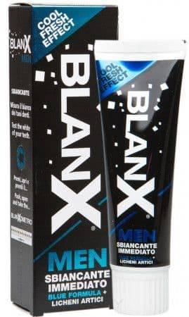 Blanx, Отбеливающая паста для мужчин For Men Бланкс, 75 мл blanx зубная паста для мужчин for men 75 мл