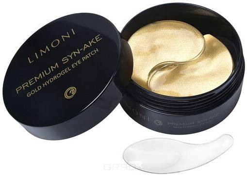 Купить Limoni, Антивозрастные патчи для глаз со змеиным ядом Premium Syn-Ake Gold Hydrogel Eye Patch, 60 шт