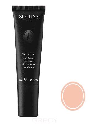 Sothys, Тональная основа под макияж с матовым эффектом (7 оттенков) Бежево-розовый BR10 цена