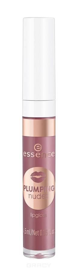 Купить Essence, Блеск для губ Plumping Nudes Lipgloss, 4.5 мл (7 тонов) №06, пурпурный