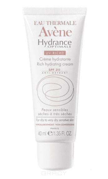 Увлажняющий защитный крем для сухой кожи UV20 Риш Hydrance, 40 мл авен гидранс оптималь риш