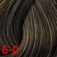 Estel, Краска для волос Princess Essex Color Cream, 60 мл (135 оттенков) 6/0 Темно-русый