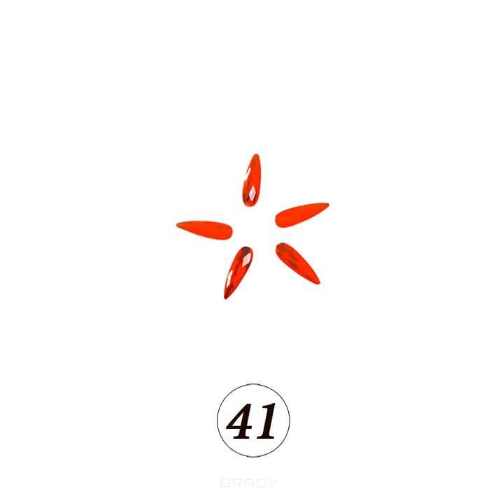 Купить Planet Nails, Цветные фигурные стразы в ассортименте (76 видов), 5 шт/уп Планет Нейлс №41