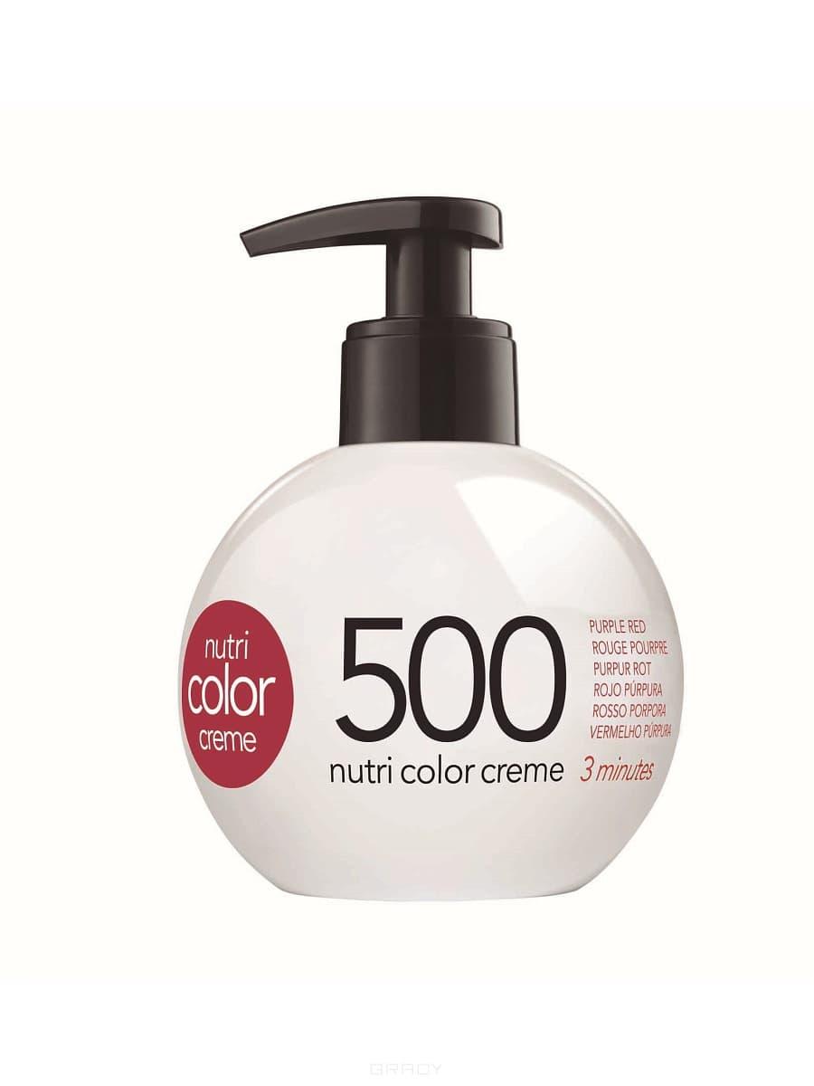 Revlon, Крем-краска для волос 3 в 1 Nutri Color Creme, (52 оттенка) 500 Пурпурно красный краска для волос колор кроссворд 5 букв