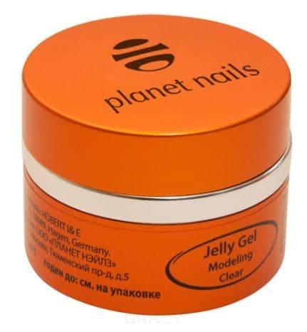 Planet Nails, Гель-желе Modeling Clear Jelly Gel конструирующий, прозрачный Планет Нейлс, 30 гр тайна трех планет 2019 01 07t11 30