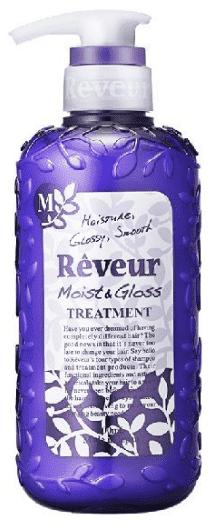 Кондиционер Reveur Moist&Gloss Увлажнение и Блеск, 500 мл джапан гейтуей кондиционер ревью reveur richrepair питание и восстановление 500 мл