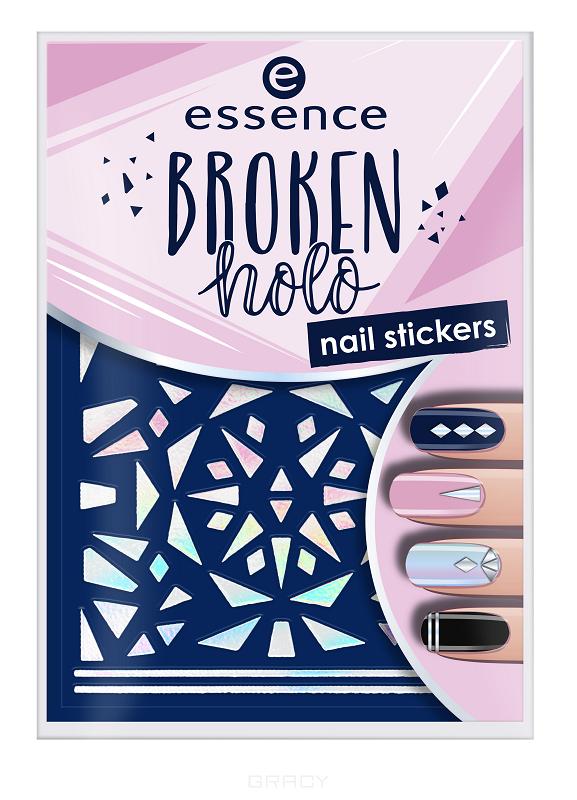 Essence, Наклейки для ногтей Broken Holo