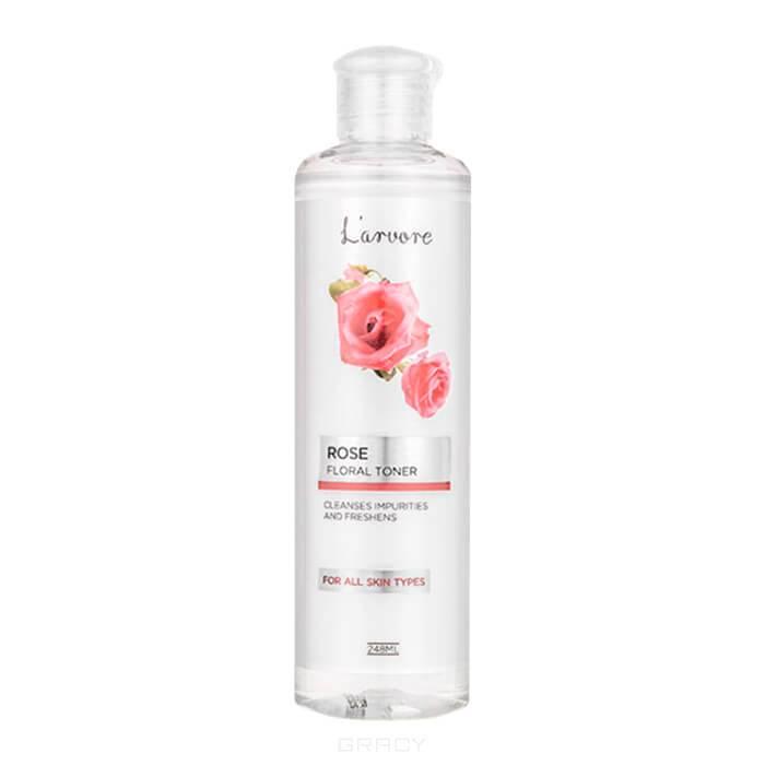 L'Arvore, Тонер освежающий с экстрактом розы Rose Floral Toner, 248 мл тоник secret key rose floral softening toner объем 248 мл