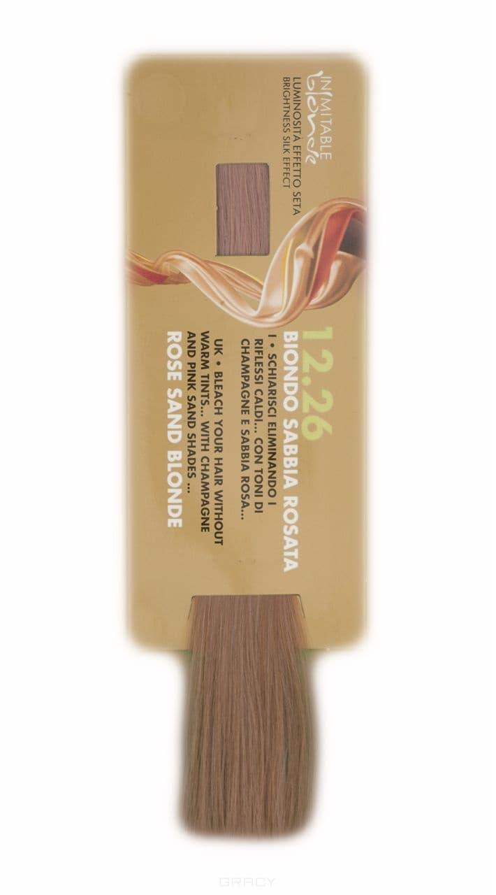 Hair Company, Крем-краска Супер-блондин Inimitable Blonde Coloring Cream, 100 мл (9 оттенков) 12.26 Супер-блондин песочно-розоватыйInimitable Blonde - удаление желтого оттенка, окрашивание<br><br>