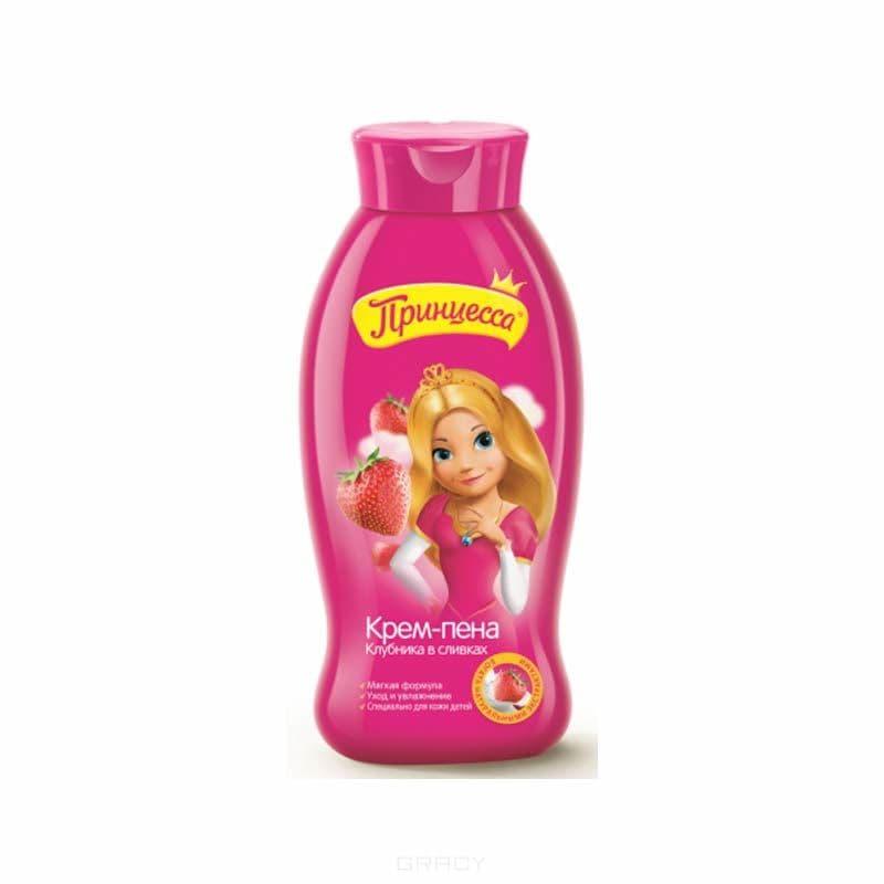 купить Принцесса, Пена для ванн нежная детская Клубника в сливках, 400 мл по цене 119 рублей