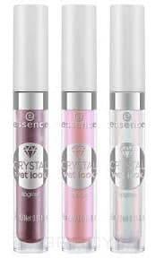 Купить Essence, Блеск для губ Crystal Wet Look Lipgloss, 4.5 мл (3 тона), №01, розовый