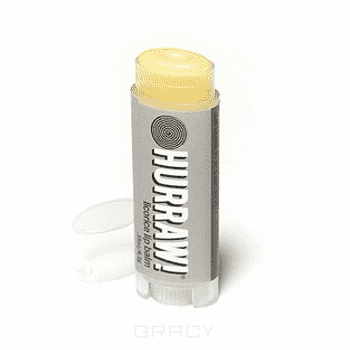 Hurraw, Бальзам для губ Лакрица Licorice Lip Balm hurraw бальзам для губ лакрица licorice lip balm