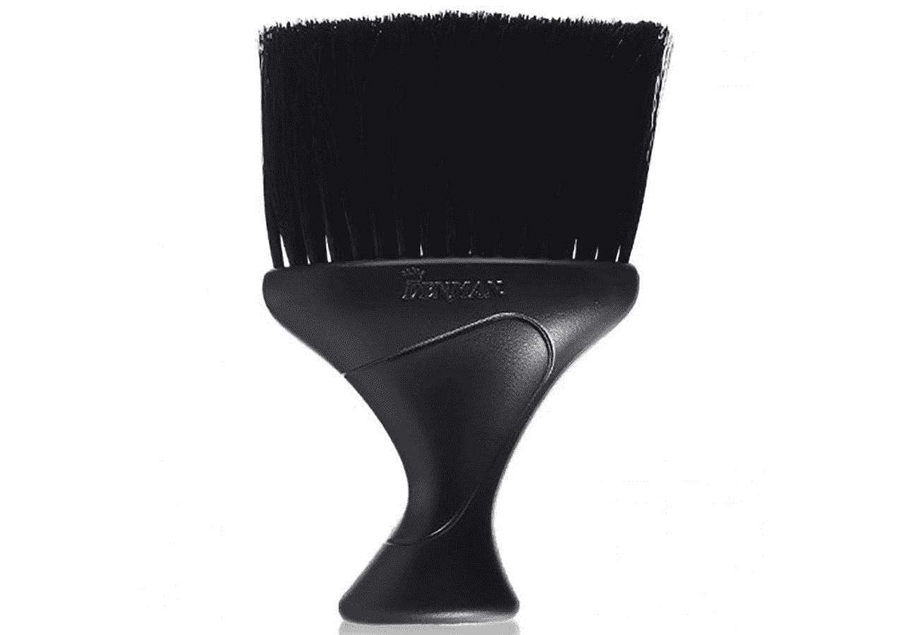 Denman, Щетка-сметка D78, черная, 1 шт eurostil щетка сметка с тальком 2 цвета 1 шт черный 01463 50