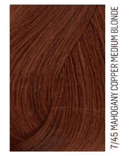 Lakme, Перманентная крем-краска для волос без аммиака Chroma, 60 мл (54 тона) 7/45 Средний блондин медно-махагоновый фото