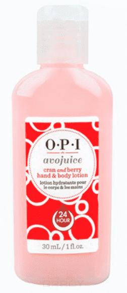 OPI, Лосьон для рук Клюква Avojuice, 28 мл opi avojuice vanilla lavender hand