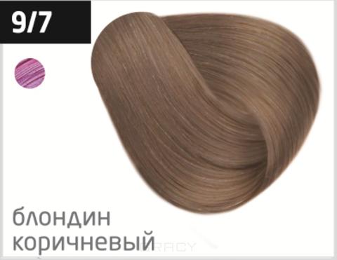 Купить OLLIN Professional, Перманентная стойкая крем-краска с комплексом Vibra Riche Ollin Performance (120 оттенков) 9/7 блондин коричневый