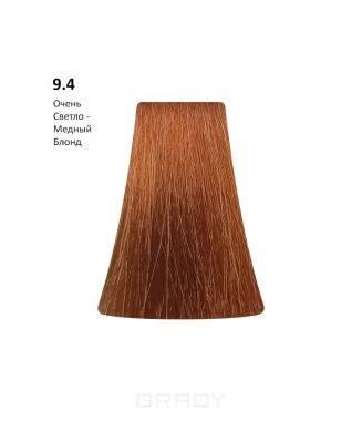 Купить BB One, Перманентная крем-краска Picasso Colour Range без аммиака (76 оттенков) 9.4Very Ligth Copper Blond/Очень Светло-Медный Блондин