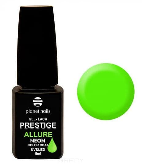 Planet Nails, Гель-лак PRESTIGE ALLURE Neon Collection, 8 мл Neon Collection - 685 bluesky гель лак neon 23