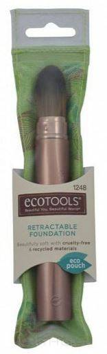 Ecotools, Кисть для тональной основы Retractable foundation brush недорого