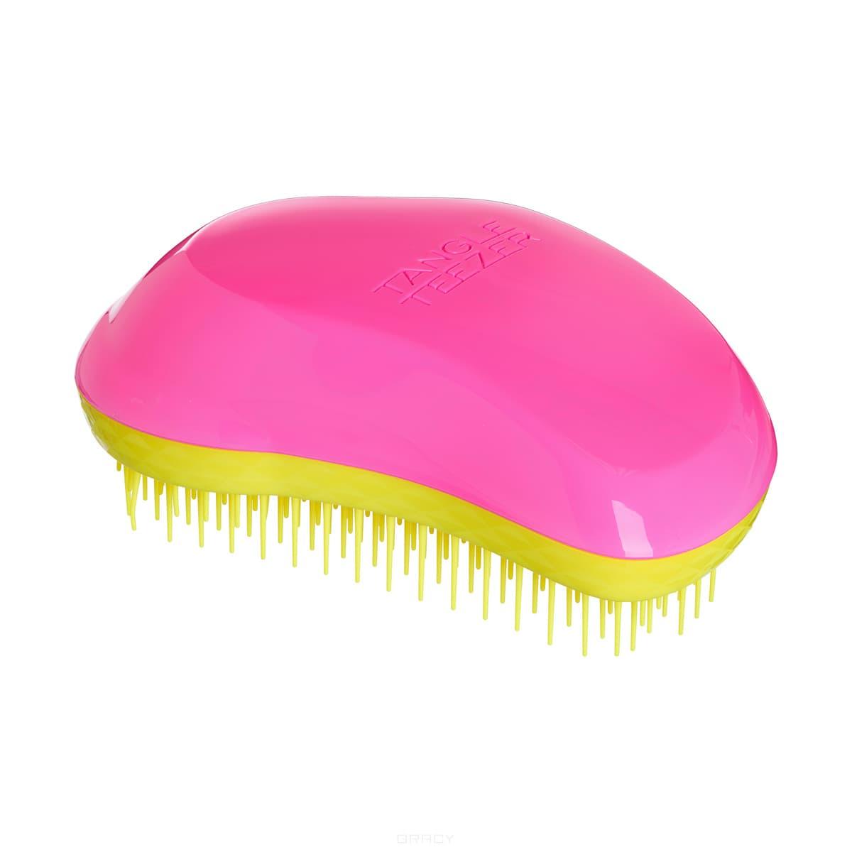 Расческа для волос The Original Pink RebelЛимитированная модель Tangle Teezer The Original Pink Rebel с ярким сочетанием летних неоновых оттенков: розового и жёлтого! Создана знаменитым британским стилистом Шоном Палфри, у которого за плечами более тридцати лет опыта работы в индустрии. Эргономичная форма Tangle Teezer The Original позволяет легко расчёсывать как сухие, так и влажные волосы. Благодаря уникальному строению зубчиков, расчёска мягко скользит по волосам, не повреждая и не травмируя их. После использования расчёски волосы приобретают здоровый вид и блеск, становясь гладкими и шелковистыми. Подходит для любого типа волос, включая наращенные и окрашенные. Яркий или лаконичный дизайн - выбирайте аксессуар в зависимости от своего настроения!<br>
