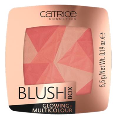 Catrice, Румяна Blush Box Glowing + Multicolour (2 оттенка), 1 шт, 010 - Dolce Vita румяна blush box glowing multicolour 2 оттенка