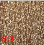 Купить Kaaral, Перманентный краситель для волос Maraes Color Nourishing, 60 мл (58 тонов) 8.3 светлый золотистый блондин