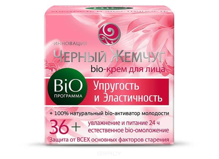 Черный жемчуг, Крем дл лица Bio-программа Упругость и ластичность 36+, 50 млКремы, гели, сыворотки<br><br>