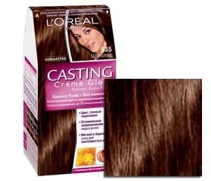 L'Oreal, Краска для волос Casting Creme Gloss (37 оттенков), 254 мл 535 Шоколад l oreal краска для волос casting creme gloss 515 морозный шоколад