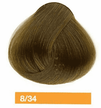 Lakme, Перманентная крем-краска Collage, 60 мл (99 оттенков) 8/34 Блондин золотисто-медный lakme перманентная крем краска collage 60 мл 99 оттенков 9 34 светлый блондин золотисто медный