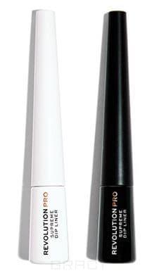 Revolution Pro, Жидкая подводка Supreme Pigment Dip Eyeliner (2 оттенка), 1 шт, Black фото