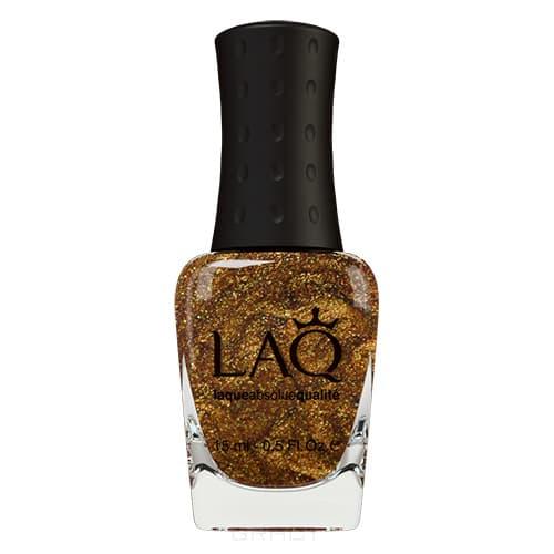 LAQ, Лак для ногтей 24 карата чистого золота 24 Carat Solid Gold, 15 мл (4 оттенка), 10187 24 Carat Solid Gold 24 карата чистого золота, 15 мл