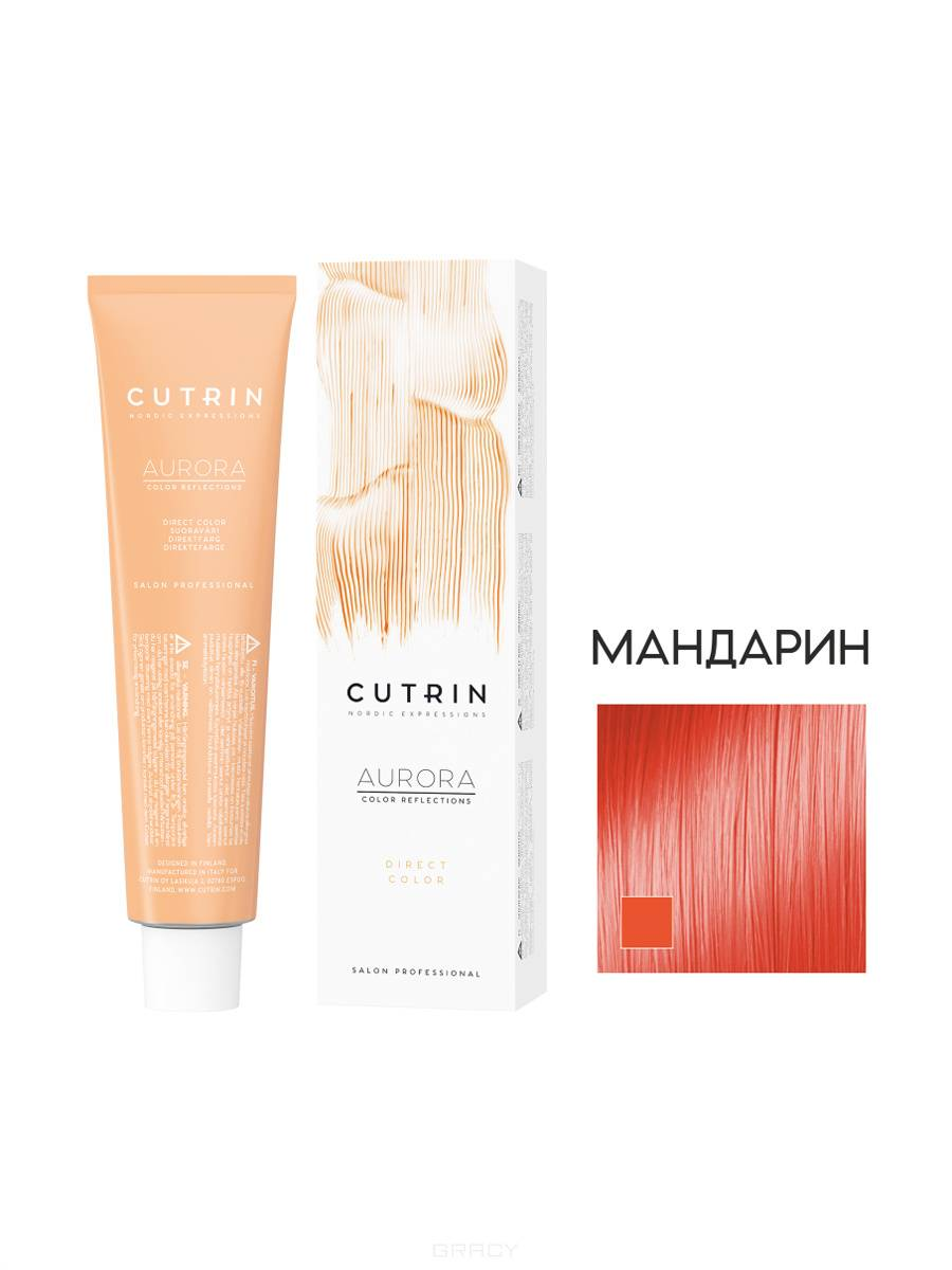 Купить Cutrin, Тонирующий краситель с прямыми пигментами Aurora Direct Color, 100 мл (10 оттенков) Мандарин (оранжевый)
