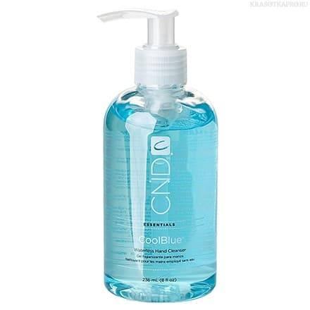 CND (Creative Nail Design), Жидкость косметическая с антибактериальным эффектом для рук Cool Blue 236 мл cnd мономер cnd retention 2309 237 мл page 6