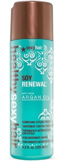 Sexy Hair, Маска несмываемая на масле арганы Soy Renewal Nourishing Styling, 125 млHealthy Sexy Hair Reinvent - оздоравливающая линия<br><br>