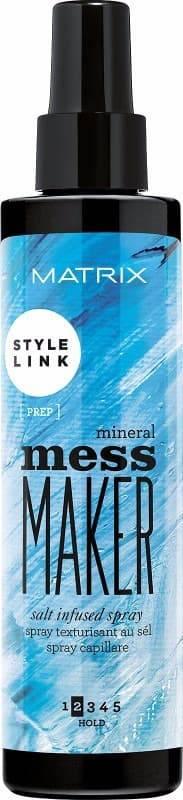Matrix, Спрей обогащенный солью Style Link Mineral Mess Maker, 200 млStyle Link - линия укладки и стайлинга<br><br>
